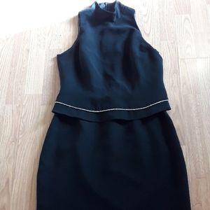 Jones New York black cocktail dress. Worn once.